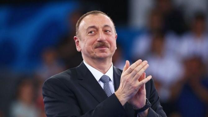 Азербайджанският президент обеща победа над Армения