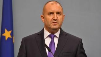 Президентът Румен Радев поздрави българите за Деня на независимостта