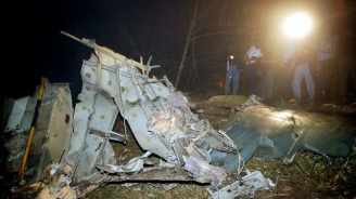Военен самолет се разби в Украйна. Има жертви, но и оцелели