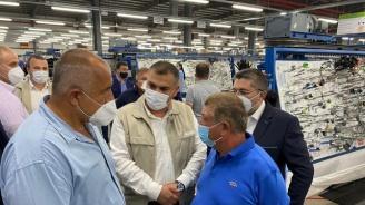 Премиерът в турски холдинг в Люляково: Докато другите говорят, ние работим. Нашата сила е връзката с хората