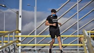 Първият пациент с COVID-19 в Италия участва в бягане в памет на жертвите на пандемията