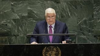 Сирия: Турция е един от главните спонсори на тероризма