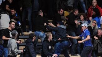 Масов бой на мача Ботев (Пд) - Левски, над души са арестувани