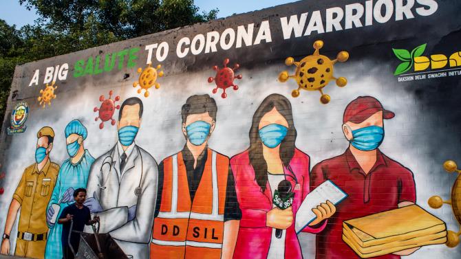 Заразените с коронавирус в Индия вече са над 6 милиона