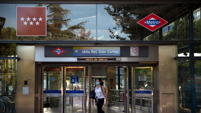 Момиче писа до Мадридското метро: Здравейте, май съм ви заразила с COVID-19