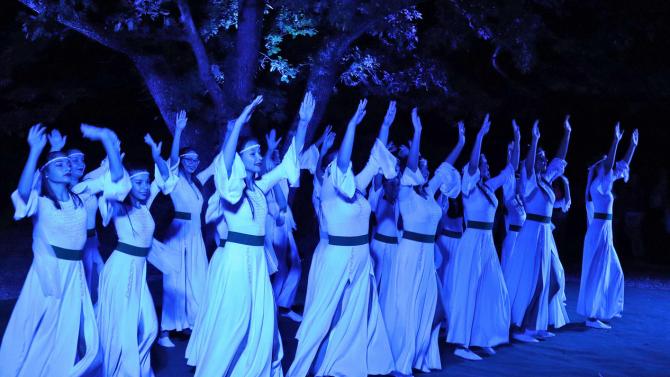 Самодиви огласиха с танци и музика горите на Кенана
