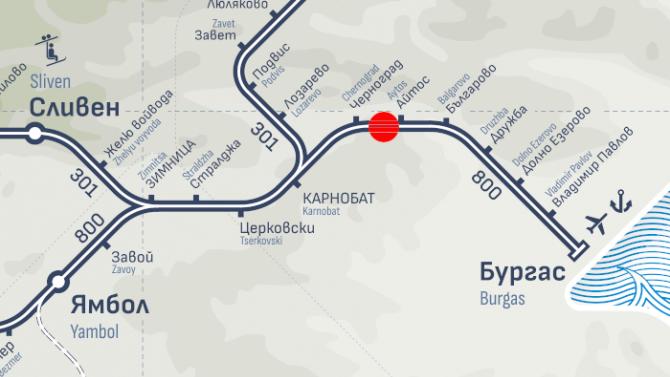 БДЖ с подробности за пламналия влак София-Бургас