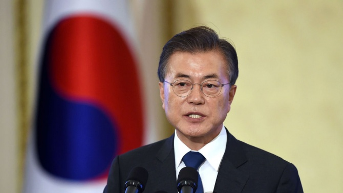 Южнокорейският президент се извини заради инцидента със застреляния от севернокорейски войници южнокореец