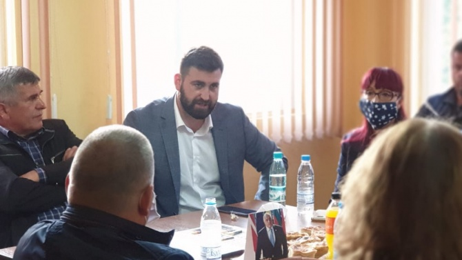 Цветомир Паунов и Андрей Новаков проведоха работна среща с актива на ГЕРБ в Сатовча