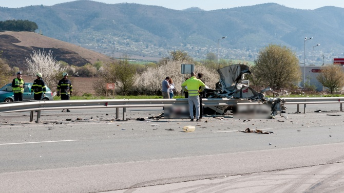 Катастрофа на пътя Велико Търново - Габрово. Има жертви