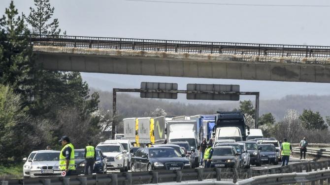 След тежката катастрофа: Движението по пътя Велико Търново - Габрово е нормализирано