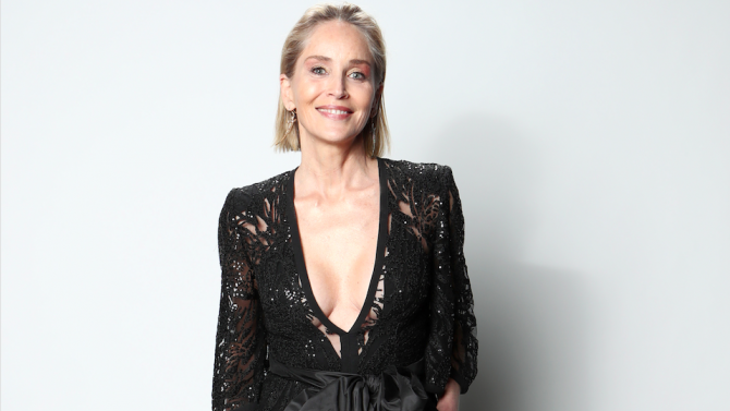 Шарън Стоун даде старт на Седмицата на модата в Париж