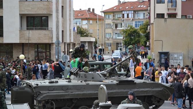 """""""Тук сме защото Българската армия и българският народ са били"""