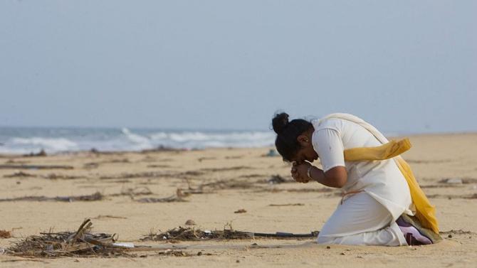 Момче, изчезнало при цунами в Шри Ланка през 2004 г., беше открито от майка си