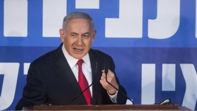 """Нетаняху твърди, че """"Хизбула"""" складира оръжия край газова компания в Бейрут"""
