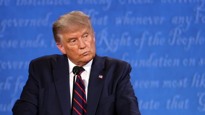 По време на предизборните дебати с кандидата на американските демократи