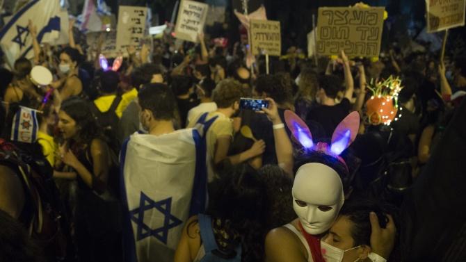 Израелци протестират срещу законопроект, който предвижда ограничаване на демонстрациите