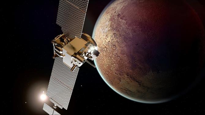 Откриха солени езера на Марс