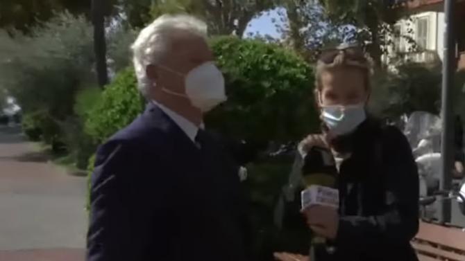 Ограбиха кмет по време на интервю