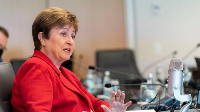Кристалина Георгиева: Положението в световната икономика в момента е по-добро, от очакваното
