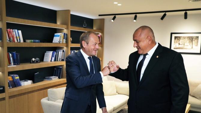 Край на спекулациите с подкрепата от Брюксел: Туск каза тежката си дума за Борисов