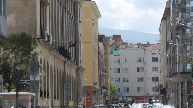 Организация на движението в София за заснемане на филм