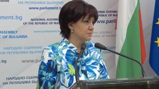 Караянчева с коментар за изказването си за магистралите и метрото