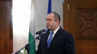 Румен Радев: Просперитетът ще дойде с образованите и възпитани хора