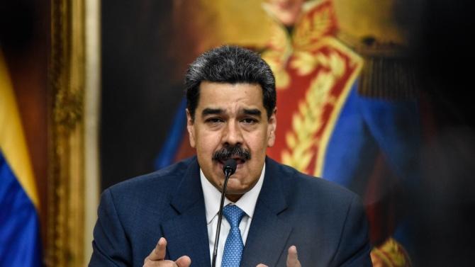 Мадуро пожела скорошно оздравяване на Тръмп, но не пропусна да го нарече враг на Венецуела