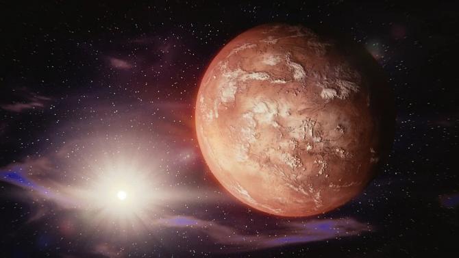 """Сондата """"ЕкзоМарс"""" откри следи от солна киселина в атмосферата на Марс"""