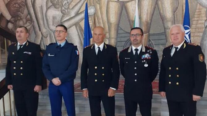"""Делегация от НАТО е на посещение в Служба """"Военна полиция"""""""