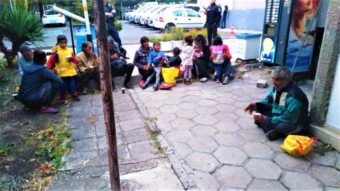 Община Бургас не позволи усядането на пореден ромски катун
