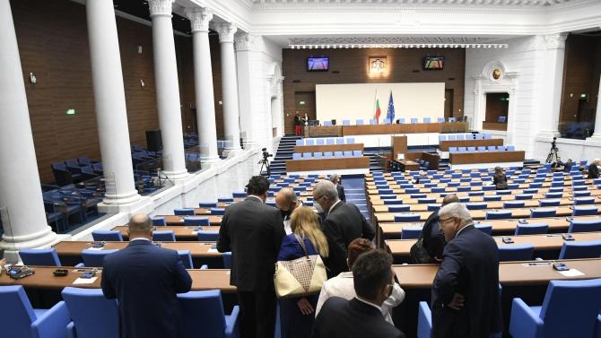 Депутатите решават ще приемат ли ветото на президента за Изборния кодекс
