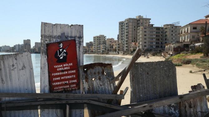 """Отвориха достъпа до крайбрежието на """"Призрачния град"""" в Северен Кипър"""