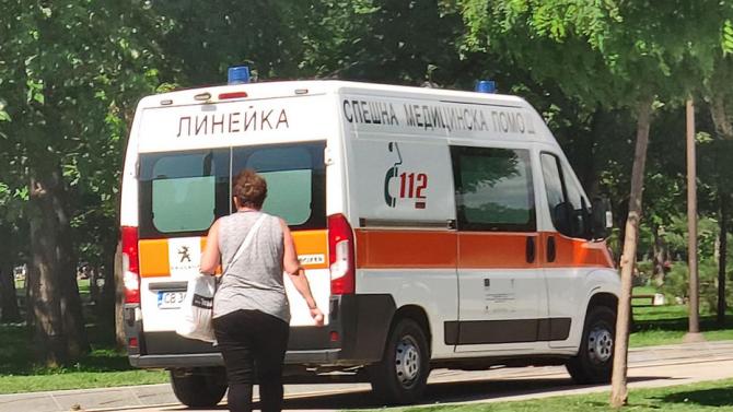 Възрастна жена е пострадала при инцидент с газова бутилка