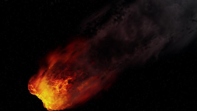 До дни метеорит блъска земята