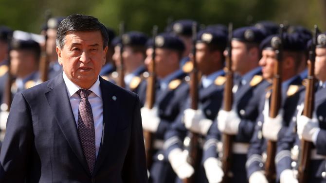 Президентът на Киргизстан готов за оставка при ново легитимно ръководство
