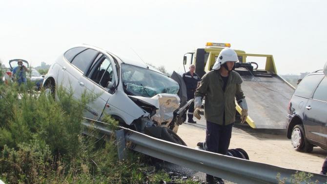 Шофьор без книжка уби 14-годишно дете при катастрофа край Стара Загора
