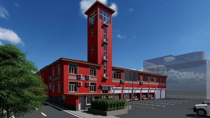 Сградата на бургаската пожарна става енергийноефективна