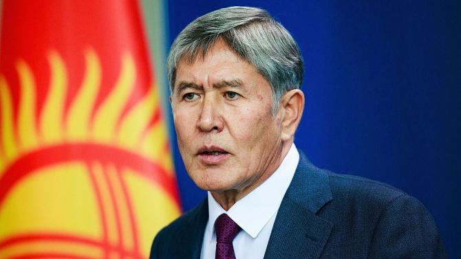 Бившият президент на Киргизстан Атамбаев оцеля при покушение