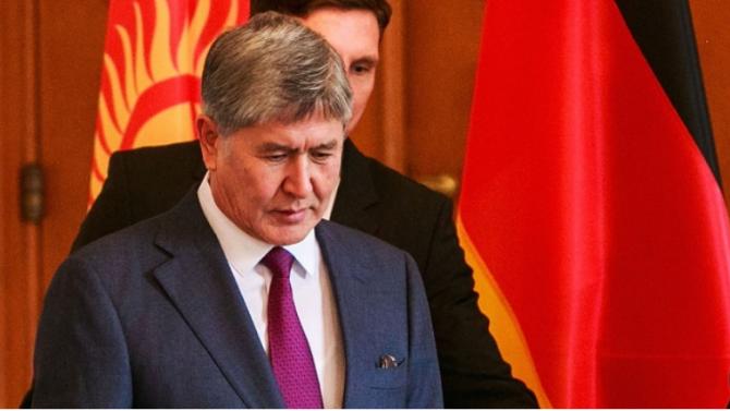 Бившият президент на Киргизстан беше задържан отново от полицията
