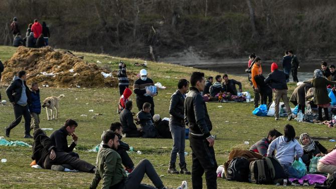 Спипаха десетки афганистанци край Герман