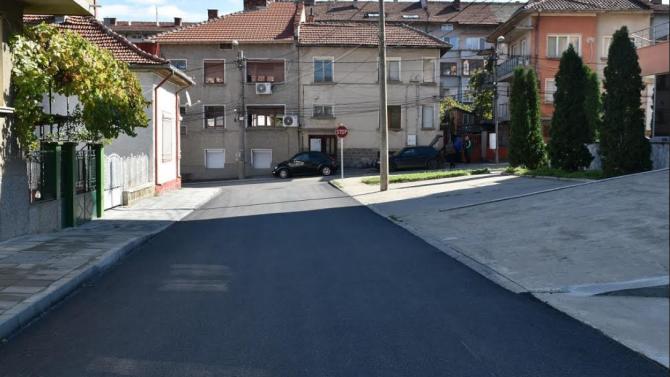 Поредният проект за подобряване на инфраструктурата на Ловеч бе финализиран