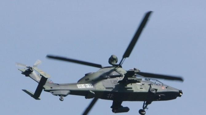 Десет загинали при катастрофа на два афганистански военни хеликоптера