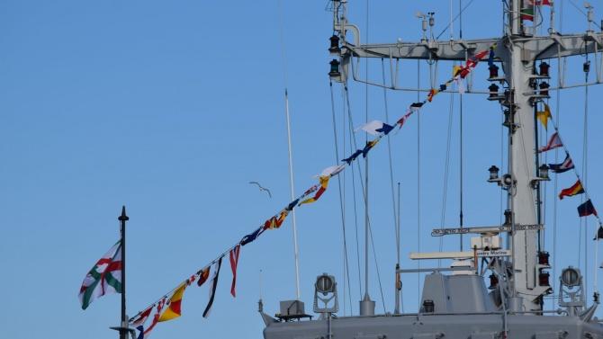 Два противоминни кораба на ВМС получиха имена