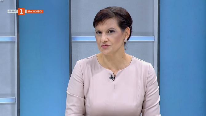 Даниела Дариткова: Тежката ситуация в момента ни кара да останем в управлението