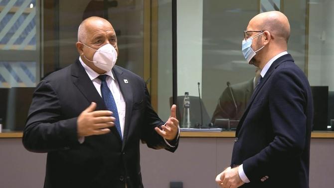 Борисов пред Шарл Мишел: ЕС трябва да запази единство при преговорите за Брекзит