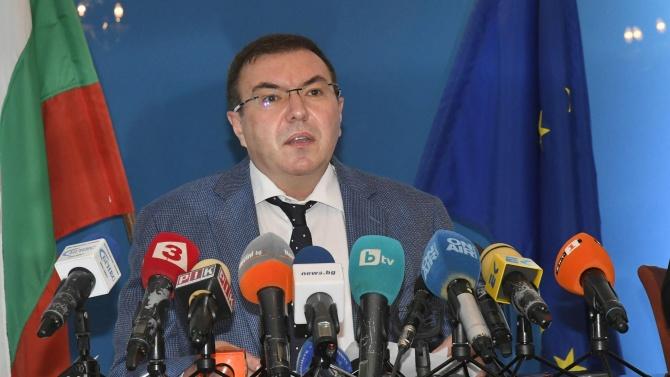 Министърът на здравеопазването заяви по време на парламентарния контрол, че