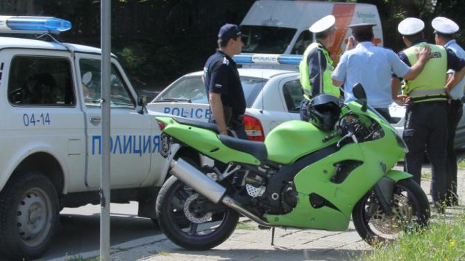 Спипаха дилър на мотоциклет в Катунци