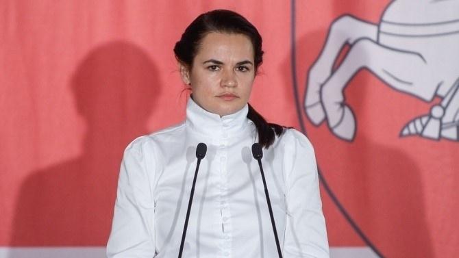 Беларуските власти обявиха за идирване Светлана Тихановска